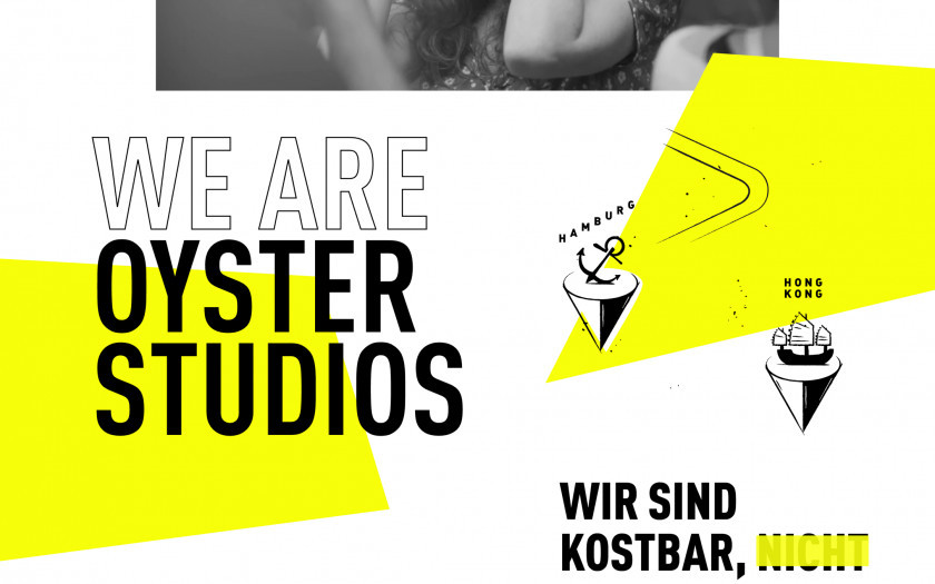 Oyster Landingpage - We are Oyster Studios