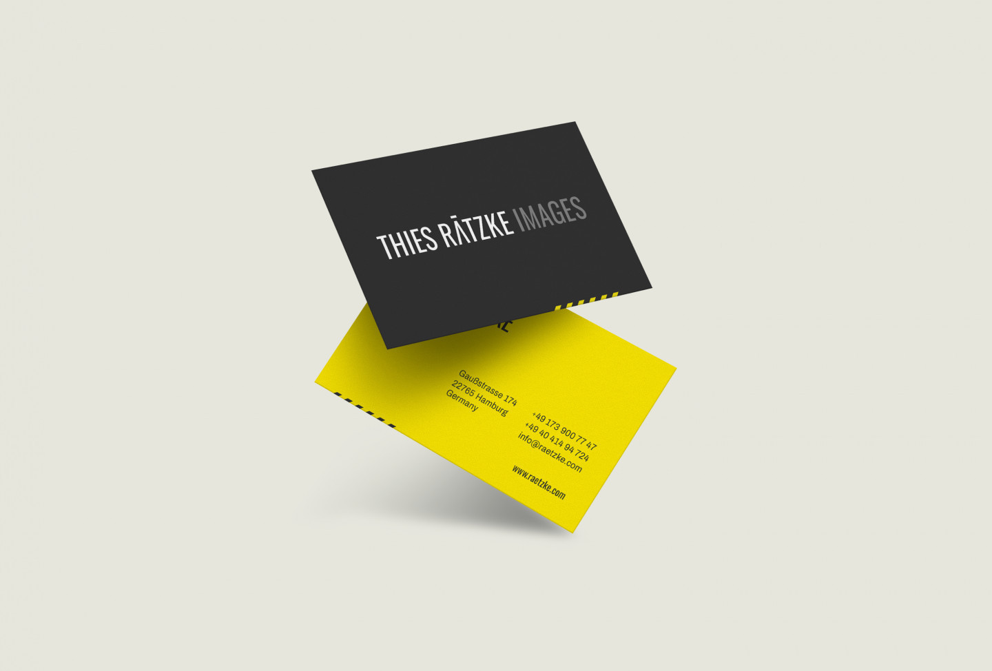 Thies Rätzke Images business card